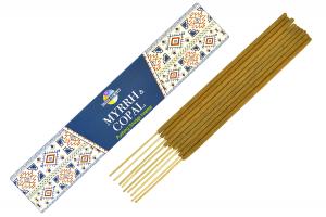 Betisoare parfumate premium Smirna si Copal (15gr.)