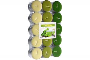 Lumanari parfumate pastila 4h (30buc.) Ceai Verde (Green Tea)