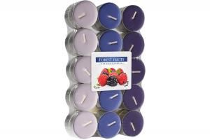 Lumanari parfumate pastila 4h (30buc.) Fructe de Padure (Forest Fruits)