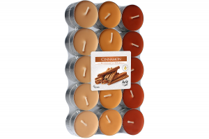 Lumanari parfumate pastila 4h (30buc.) Scortisoara (Cinnamon)