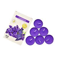 Lumanari parfumate pastila Lavanda 4h (6buc.)