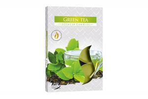 Lumanari parfumate pastila 4h (6buc.) Ceai Verde (Green Tea)