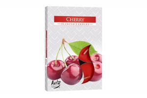 Lumanari parfumate pastila 4h (6buc.) Cirese (Cherry)