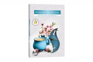 Lumanari parfumate pastila 4h (6buc.) Dimineata de Vara (Summer Morning)