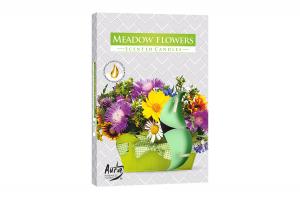 Lumanari parfumate pastila 4h (6buc.) Flori de Lunca (Meadow Flowers)