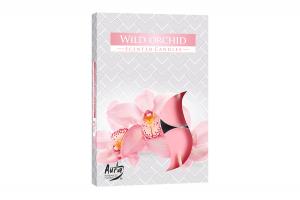 Lumanari parfumate pastila 4h (6buc.) Orhidee Salbatica (Wild Orchid)