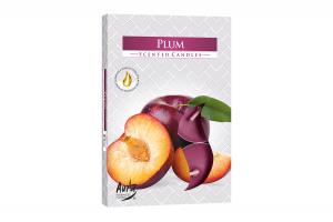 Lumanari parfumate pastila 4h (6buc.) Pruna (Plum)