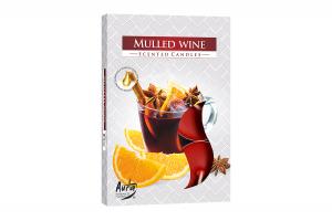 Lumanari parfumate pastila 4h (6buc.) Vin Fiert (Mulled Wine)