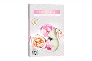 Lumanari parfumate pastila 4h (6buc.) Zi Speciala (Special Day)