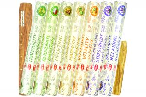 Set betisoare parfumate Utopia 7 Stari si lemn Palo Santo